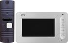 Комплект цветного видеодомофона CTV-DP400 (W/B)