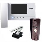Видеодомофон COMMAX CDV-35A+Вызывная панель AVC-305 (PAL)+подключение к подъездному домофону