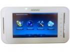 Монитор IP видеодомофона KW-E707N белый (IP System)
