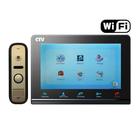 Комплект цветного IP видеодомофона CTV-DP2700IP (W/B)
