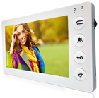 Цветной монитор видеодомофона без трубки-J2000-DF-КАРИНА SD PAL (белый)