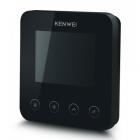Видеодомофон Kenwei KW-E401FC черный