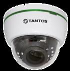 Купольная универсальная видеокамера UVC TSc-Di1080pUVCv (2.8-12) Tantos